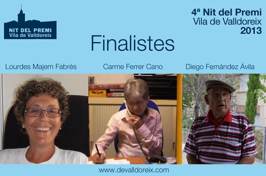 Coneix els finalistes al Premi Vila de Valldoreix 2013