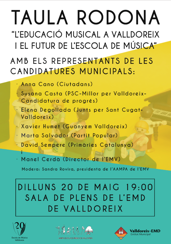 El present i futur de l'Escola de Música de Valldoreix, a debat abans de les eleccions municipals